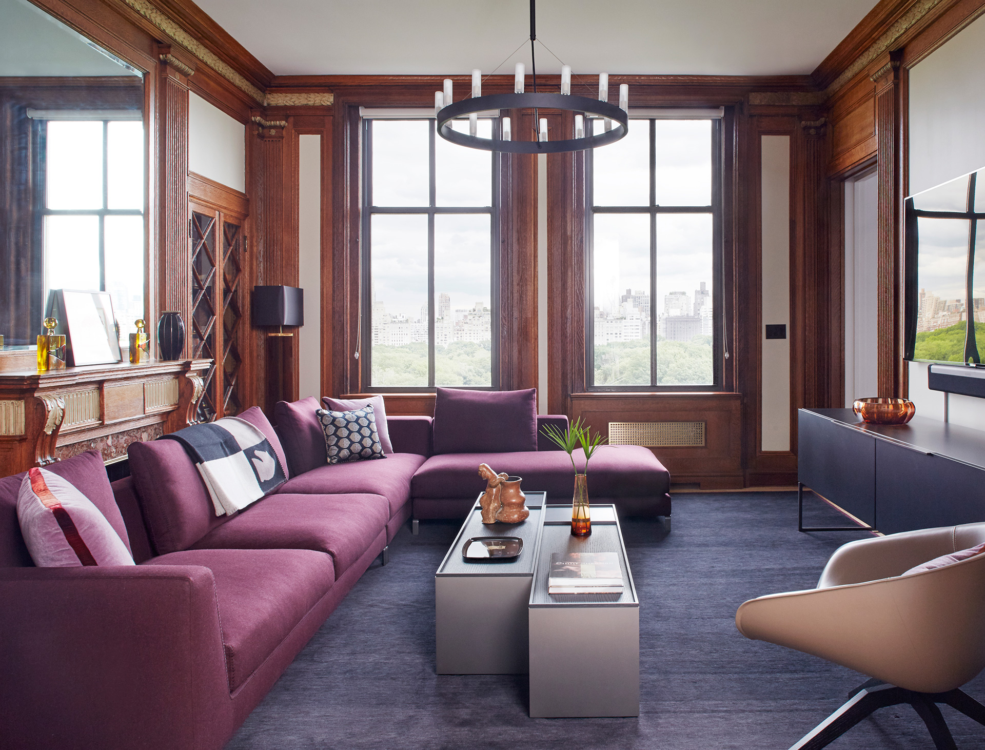 Modern and Classic • 135 Central Park West New York