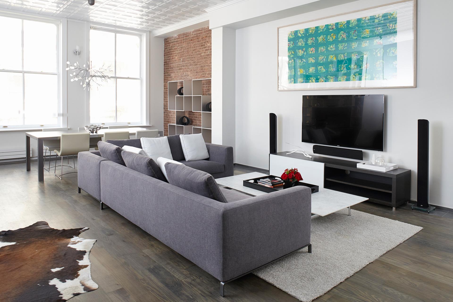 Modern Tribeca Loft • Lispenard St New York